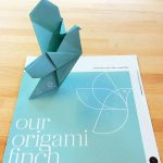 corporate origami commision, by the origami boutique.