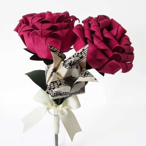 Origami flower bouquet. Birthday gift option by the origami boutique.